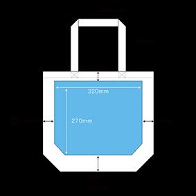 インクジェット印刷の印刷範囲